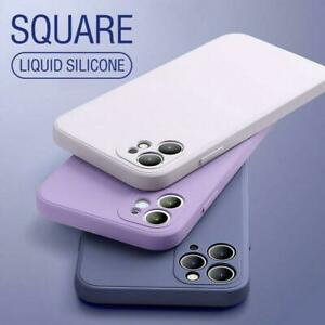 LIQUID SILICONE CASE BACK PHONE COVER SHOCKPROOF FOR IPHONE 13 12 11 XR XS 7 8