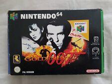 Goldeneye 007 Nintendo 64 N64 UK Pal Version coffret complet!!!