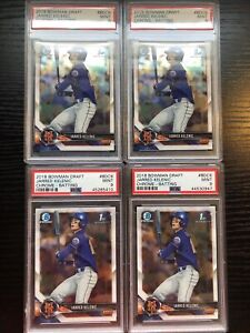 2018 1st Bowman Chrome Draft Jarred Kelenic PSA 9 MINT INVEST NOW QTY AVAILABLE