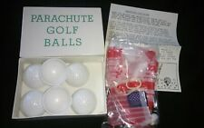 Vintage Parachute Golf Balls Concra Japan Novelty Gift Gag Father's Day Christma