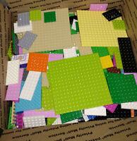 Bulk LEGO Lot BASEPLATES SPECIALTY PLATES ONLY 7 lb Pounds Tan White Green Black