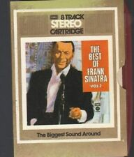 1 X 8 TRACK CASSETTE BEST OF FRANK SINATRA VOL 2  SEE ALL PICTURES