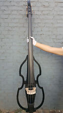 new 4 string 3/4 Electric Upright Double bass Powerful Sound Solid wood #EB10