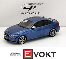 BMW M235i blue metallic 1:18 GT-SPIRIT