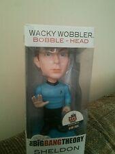 SHELDON COOPER THE BIG BANG THEORY  FUNKO STAR TREK BOBBLE Head Wacky Wobbler