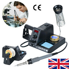 WEP 60W Soldering Iron Station Rework Kit Variable Stand Temperature Digital LED