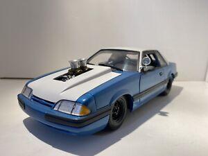 GMP 1:18 1987 FORD MUSTANG LX PC CAR PORK CHOP BOUNTY HUNTER LTD TO 1500 V.RARE
