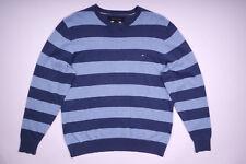 Tommy Hilfiger Strickpullover Pullover Rundhals Blau Herren Gr. S