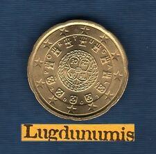 Portugal - 2003 - 20 centimes d'euro - Pièce neuve de rouleau -