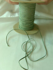 3 MTRS SAGE GREEN SOUTACHE BRAID 3mm TRIM CORD NECKLACE JEWELLERY MAKING ST1100