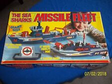 RARE Vintage HG TOYS THE SEA SHARKS MISSILE FLEET  in BOX #957 LOOK BUY IT NOW