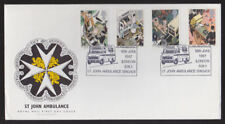 Great Britain 1987 FDC Royal Mail Cover St John Ambulance Brigade London Cancel