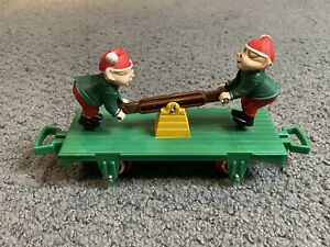 1993 Toy State North Pole Christmas Express Animated Elf Elves Train Car