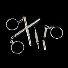 2 X 3in1 Mini Screwdriver Tool Repair set keyring for Watch,Glasses,CellPhone uk