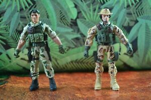 2008 Freedom Ops Network Action Figures Army Green Beret Explosive Navy Seal RTO