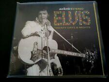 RARE ELVIS PRESLEY CD - TWENTY DAYS & NIGHTS - AUDIONICS