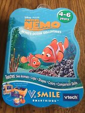 Disney Pixar Vtech Vsmile Finding Nemo Ocean Discoveries Game