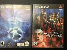 Playstaion 2 Lot Of 2 Virtua Fighter 4  Football Games UEFA Champions League 06