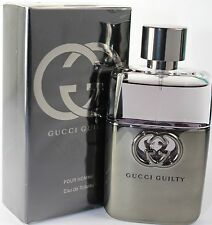 Gucci Guilty Pour Homme 1.6 / 1.7 oz 50ml Spray Eau de Toilette For Men New