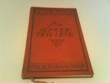 Komödie der Liebe-Komödie in 3 Akten-Fischer Verlag Berlin-von 1910--104 Seiten