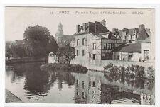 Vue Sur La Touques l'Eglise Saint Desir Lisieux France postcard