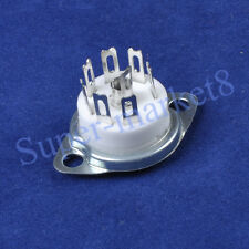 10pcs 7pin Ceramic MINI Tube Socket for 12AF6 12EC6 6AQ5 6CA5 6X4 Valve