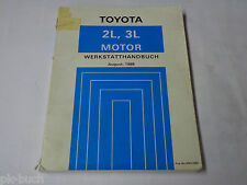 Workshop Manual Toyota Hilux Motor 2,4/2,8 L/Four-Cylinder Stand 08/1988