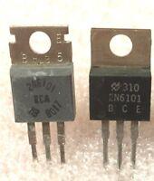 6 Pcs New 2N6101 NPN Transistor 80V 10A TO-220