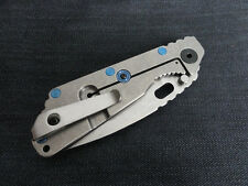 Custom Titanium Deep Carry Pocket Clip for Strider SNG Strider SMF Stride PT