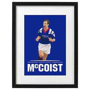 Ally McCoist Glasgow Rangers art print / poster