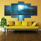 5pcs Large Moon Night Canvas Print Wall Art Painting Picture Home Decor