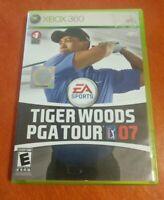 Tiger Woods PGA Tour 07 Microsoft Xbox 360 EA Sports Electronic Arts ESPN
