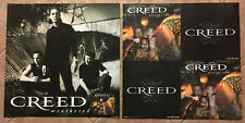 Scott Stapp Creed Rare 2001 Double Sided Promo Poster for Weathered Cd 24x24 Usa