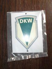 Emailleschild, Blechschild DKW NEU Oldtimer