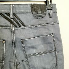 Adidas Diesel Industry Men's Size 31 x 32 Jeans Denim Division Gray 5 Pocket