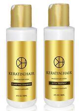 Keratin For Hair Btox Capillary Thin, Blonde Dull to Beautiful Treatment Kit 4oz