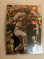 2020 Topps Chrome Sepia Refractor Seth Brown Rookie RC Oakland Athletics SP