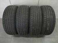 4x Sommerreifen Dunlop Sport Bluresponse LLR 205/55 R16 91V / DOT xx18 / 6-7 mm
