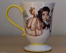 DISNEY STORE THE ART OF BELLE  BEAUTY AND THE BEAST OFFICIAL MUG CUP! IN HAND!