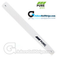 Pure Grips - Midsize Paddle Putter Grip - White + Free Tape