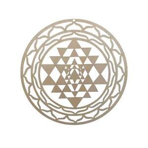 Sri Yantra Wall Decor Art Meditation Symbol Energy Pendent Spiritual BedRoom