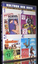 DVD KULTBOX DER 80er - PRIVATE SCHOOL + COOL AS ICE + REINE GLÜCKSSACHE * NEU *