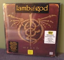 "Lamb of God ""Wrath"" LP/CD Box Set Sealed OOP Orig Mastodon Baroness Slayer"