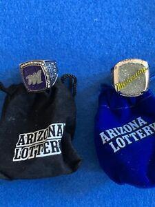 WNBA PHOENIX MERCURY 2007&2009 CHAMPIONSHIP RINGS DIANA TAURASI, BRITTNEY GRINER