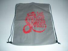 Pro Wrestling Crate Jake the Snake Roberts drawstring backpack bag