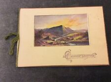 Antique New Years Card - Used