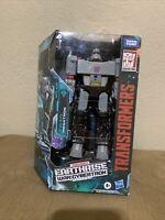 "Transformers Megatron Earthrise War For Cybertron Action Figure Hasbro 7"""