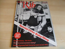 Spare Rib Women's Liberation Feminist Magazine Number 30 December 1974
