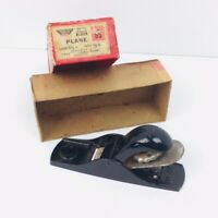 Millers Falls Adjustable Block Plane No 55 Made In USA Greenfeild Mass.