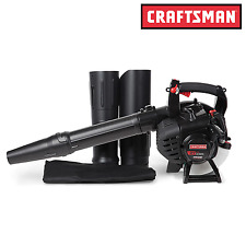 Craftsman 27cc Gas Blower with Vac Kit Handheld Leaf Yard NEW Free Shipping